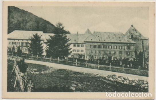 POSTAL DE NAVARRA. RONCESVALLES. NAVARRA. LA CASA DE LOS CANÓNIGOS P-NA-317 (Postales - España - Navarra Moderna (desde 1.940))