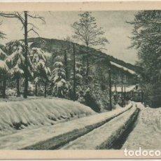 Postales: POSTAL DE NAVARRA. RONCESVALLES. NAVARRA. ENTRADA DE LA VILLA (INVIERNO) P-NA-318. Lote 194284896