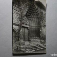 Postales: POSTAL ESTELLA.- FACHADA.-SANTO SEPULCRO XM. Lote 194645506