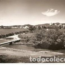 Cartes Postales: POSTAL BURGUETE. NAVARRA. VISTA PARCIAL Y PUENTE ANSOBI. 73-221. Lote 194709520