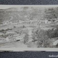 Postales: RARA POSTAL FOTOGRÁFICA ESTACIÓN FERROCARRIL A IDENTIFICAR ANTIGUA. Lote 194903325