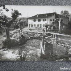 Postales: DANCHARENA NAVARRA PUENTE A VENTA ESPAÑOLA RARA POSTAL FOTOGRÁFICA ANTIGUA. Lote 194903932