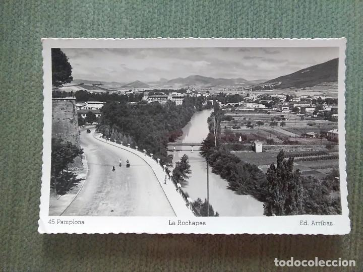 POSTAL PAMPLONA LA ROCHAPEA (Postales - España - Navarra Moderna (desde 1.940))