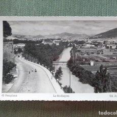 Postales: POSTAL PAMPLONA LA ROCHAPEA. Lote 194991882