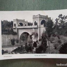 Postales: POSTAL PAMPLONA PUENTE DE VISTA BELLA. Lote 194991936