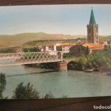 Postales: SANGÜESA-RIO ARAGON Y PUENTE-EDICIONES PARIS-28-POSTAL ANTIGUA-VER FOTOS-(68.036). Lote 195122507