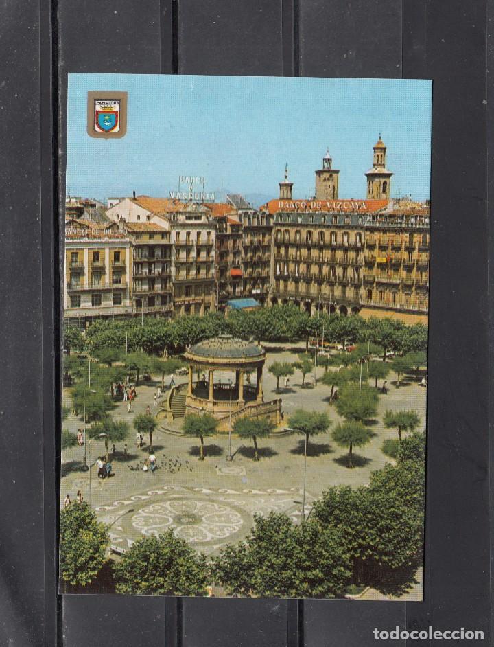 Nº 73 PAMPLONA.. PLAZA DEL CASTILLO (Postales - España - Navarra Moderna (desde 1.940))