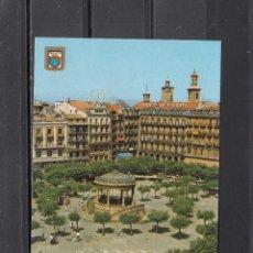 Postales: Nº 73 PAMPLONA.. PLAZA DEL CASTILLO. Lote 195253717