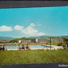 Postales: COLEGIO DE LECAROZ. PISCINA Y VISTA SUR DEL COLEGIO. Lote 195254135