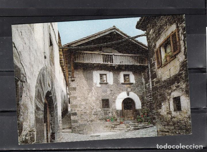 Nº 10. ISABA. CASERIO DEL S. XVII. RINCÓN TÍPICO (Postales - España - Navarra Moderna (desde 1.940))