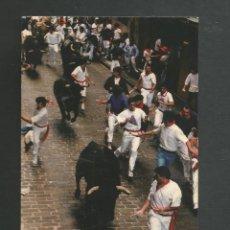 Postales: POSTAL SIN CIRCULAR - PAMPLONA 137 - EL ENCIERRO - EDITA POSTALES IRUÑA. Lote 195325835