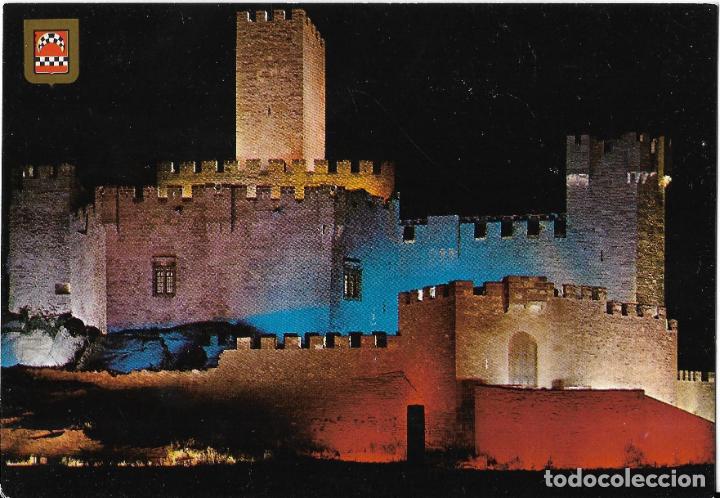 == B1487 - POSTAL - CASTILLO DE XAVIER - LUZ Y SONIDO (Postales - España - Navarra Moderna (desde 1.940))