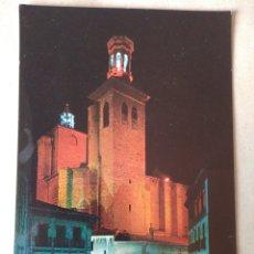 Postales: PAMPLONA NAVARRA IGLESIA DE SAN CERNÍN. Lote 195451467