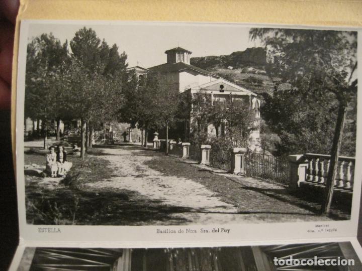 Postales: ESTELLA-BASILICA DE NTRA SRA DEL PUY-BLOC DE 15 POSTALES FOTOGRAFICAS-ED·MANIPEL-VER FOTOS-(68.340) - Foto 3 - 195872827