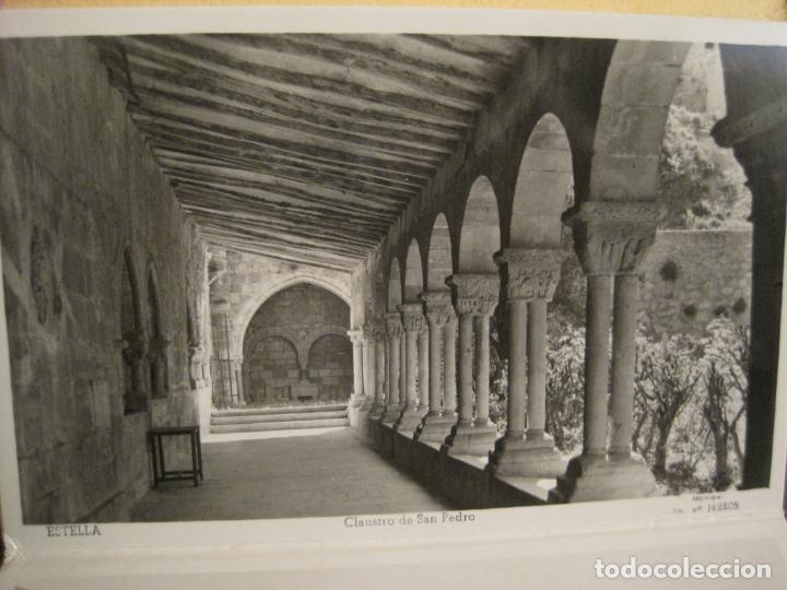 Postales: ESTELLA-BASILICA DE NTRA SRA DEL PUY-BLOC DE 15 POSTALES FOTOGRAFICAS-ED·MANIPEL-VER FOTOS-(68.340) - Foto 11 - 195872827