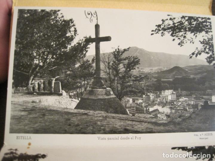 Postales: ESTELLA-BASILICA DE NTRA SRA DEL PUY-BLOC DE 15 POSTALES FOTOGRAFICAS-ED·MANIPEL-VER FOTOS-(68.340) - Foto 13 - 195872827