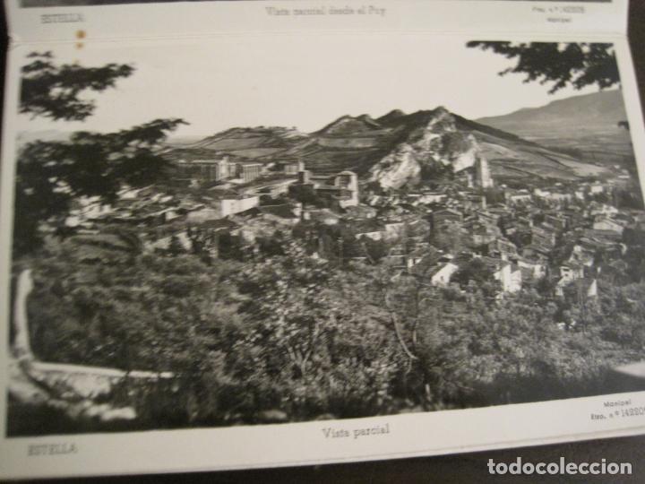 Postales: ESTELLA-BASILICA DE NTRA SRA DEL PUY-BLOC DE 15 POSTALES FOTOGRAFICAS-ED·MANIPEL-VER FOTOS-(68.340) - Foto 14 - 195872827