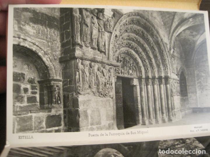 Postales: ESTELLA-BASILICA DE NTRA SRA DEL PUY-BLOC DE 15 POSTALES FOTOGRAFICAS-ED·MANIPEL-VER FOTOS-(68.340) - Foto 15 - 195872827
