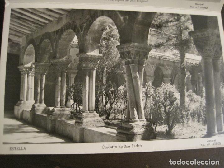 Postales: ESTELLA-BASILICA DE NTRA SRA DEL PUY-BLOC DE 15 POSTALES FOTOGRAFICAS-ED·MANIPEL-VER FOTOS-(68.340) - Foto 16 - 195872827