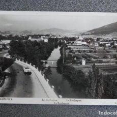 Postales: PAMPLONA LA ROCHAPEA POSTAL FOTOGRÁFICA ANTIGUA. Lote 196034983