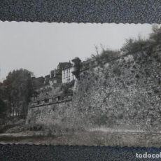 Postales: PAMPLONA ANTIGUAS MURALLAS POSTAL FOTOGRÁFICA ANTIGUA. Lote 196035045