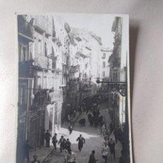 Postales: POSTAL FOTIGRAFICA. PAMPLONA. ENCIERROS. FOTO J. GALLE. SIN CIRCULAR.. Lote 197319381