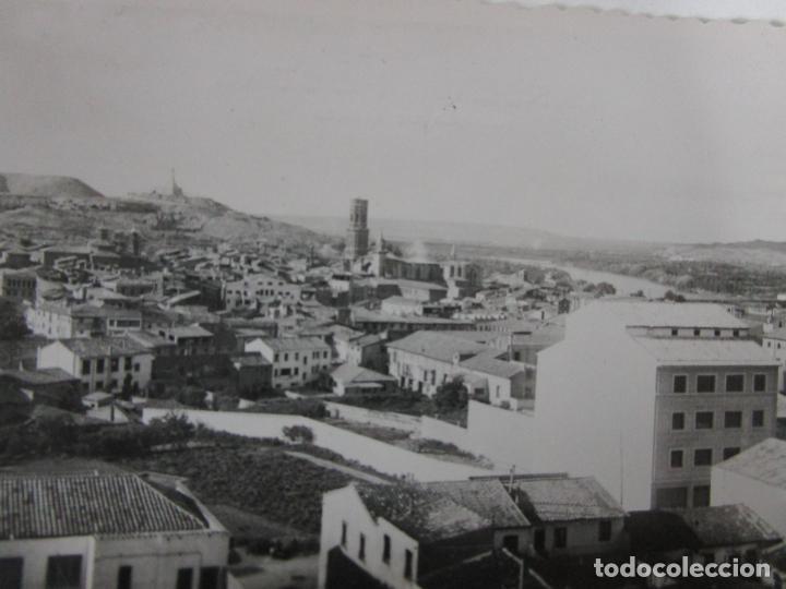 Postales: Tarjeta Postal - Tudela, Vista Parcial -Ed Darvi, Zaragoza - Año 1966 - Escrita - Foto 2 - 197736197