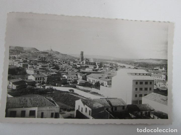 TARJETA POSTAL - TUDELA, VISTA PARCIAL -ED DARVI, ZARAGOZA - AÑO 1966 - ESCRITA (Postales - España - Navarra Antigua (hasta 1.939))