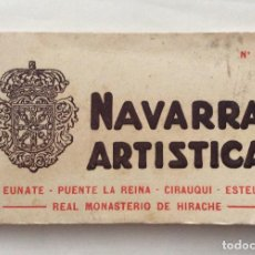 Postales: POSTALES DE NAVARRA,Nº6N-NAVARRA ARTÍSTICA ,LIBRILLO Nº6 . Lote 197826280