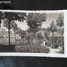 Postales: 76 PAMPLONA JARDINES MEDIA LUNA EDICIONES ARRIBAS ZARAGOZA 1958. Lote 198120683