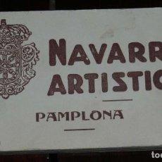 Postales: CUADERNILLO DE 20 POSTALES DE PAMPLONA, NAVARRA ARTÍSTICA, Nº1, . Lote 198590443