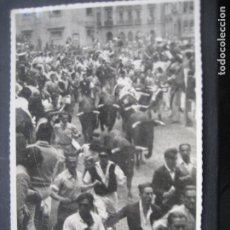 Postales: PAMPLONA. SAN FERMIN. FOTO-POSTAL DE ROLDAN.. Lote 198706473