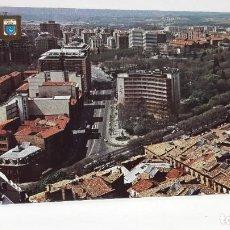 Postales: POSTAL PAMPLONA VISTA AEREA ESCUDO DE ORO SIN USO.. Lote 198706543