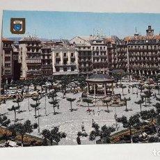 Postales: POSTAL PAMPLONA PLAZA DEL CASTILLO ESCUDO DE ORO SIN USO.. Lote 198707060