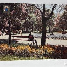 Postales: POSTAL PAMPLONA JARDINES DE VISTA BELLA ESCUDO DE ORO SIN USO.. Lote 198707956
