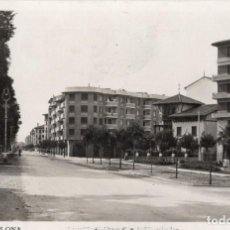 Postales: PAMPLONA. 161 AVENIDA DE FRANCO. ROISIN. Lote 198786873