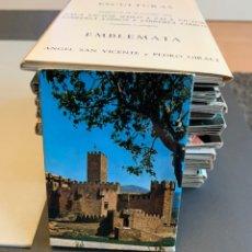 Postales: BLOC 18 POSTALES. CASTILLO DE XAVIER.. Lote 198825176