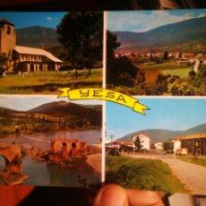 Postales: POSTAL YESA NAVARRA VISTAS PANORÁMICAS N 544 FOTO PEÑARROYA S/C. Lote 198855272