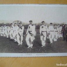 Postales: LESACA (NAVARRA) - EZPATADANTZARIS (COLECCIÓN EDITADA POR CAJA NAVARRA/DIARIO DE NOTICIAS). Lote 198923042