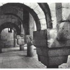 Postales: POSTAL FOTOGRÁFICA- MONASTERIO DE LEYRE.- Nº 2, CRIPTA SIGLO IX. ED. SICILIA. NAVARRA- CIRCULADA. Lote 198931775
