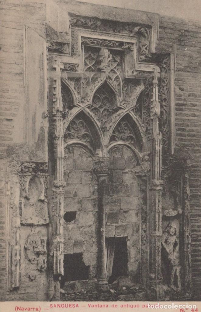 POSTAL SANGUESA VANTANA ANTIGUO PALACIO NAVARRA - EDICIÓN ROLDAN E HIJO 44 (Postales - España - Navarra Antigua (hasta 1.939))