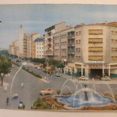 Cartes Postales: PAMPLONA - PLAZA DE MOLA Y AVENIDA DE FRANCO - N1. Lote 201560050
