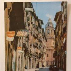 Cartes Postales: PAMPLONA - CALLE DE LA CURIA Y TORRE DE LA CATEDRAL - N1. Lote 201560198