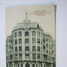 Postales: PAMPLONA-NUEVO ENSANCHE-LA VASCO NAVARRA-HAE-POSTAL ANTIGUA-(69.248). Lote 202476818