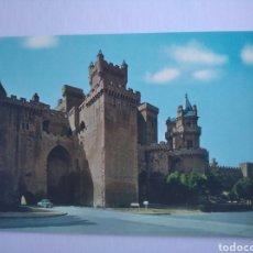 Postais: POSTAL 9866 OLITE NAVARRA CASTILLO VISTA PARCIAL POSTALES VAQUERO ED BEASCOA. Lote 202534006