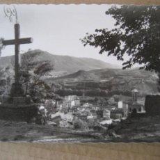 Postales: ESTELLA Nº 18. PANORÁMICA DESDE EL PUY, AL FONDO, EL MONTE JURRA. ED. G. GARRABELA. SIN CIRCULAR.. Lote 204695482