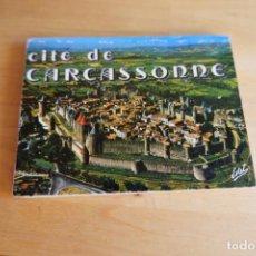Postales: ACORDEÓN DE 12 POSTALES DE CITE DE CARCASSONE - EDICIONS ESTEL. Lote 205054565