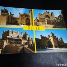Postales: POSTAL OLITE NAVARRA AÑOS 70. Lote 205068855