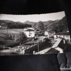 Postales: POSTAL DANCHARINEA NAVARRA PUENTE INTERNACIONAL AÑOS 60. Lote 205068948