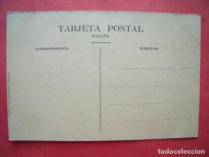 Postales: PAMPLONA.-POSTALES.-CATEDRAL.-ROLDAN E HIJO.-FOTOGRAFOS.-PAMPLONA.-NAVARRA. - Foto 2 - 205743776